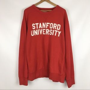 LEAGUE | Stanford university crew neck XL